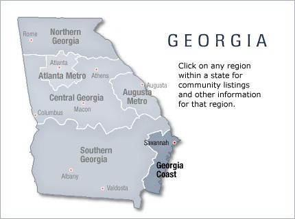 Georgia Coast, Georgia Coast All Active Retirement Communities and ...
