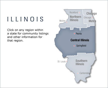active adult community in illinois