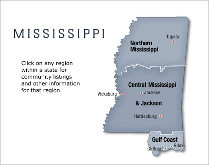 active adult fun communities in mississippi