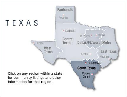 Listings in south texas texas west texas texas panhandle central texas