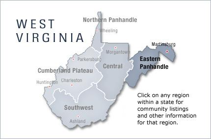 Eastern Panhandle West Virginia Eastern Panhandle Wv